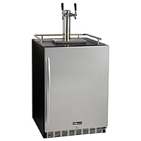 Kegco KOMHK38BSU-2 Beer Fridge