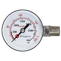 High Pressure Replacement Gauge - Left Hand Thread