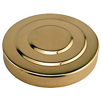 3 Inch Polished Brass Tower Cap
