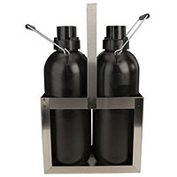 Dual Bottle Kegerator Cleaning Container Kit