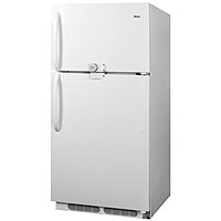 20.9 Cu. Ft. Frost-Free Refrigerator-Freezer with Front Lock