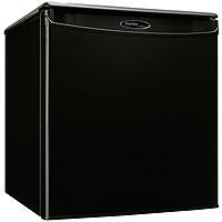 Danby DAR017A2BDD 1.7 Cubic Feet Compact All Refrigerator - Black