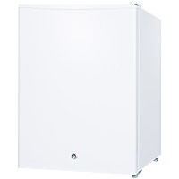 2.4 Cu. Ft. Compact All Refrigerator with Lock - White