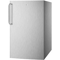 4.1 cf Undercounter Built-in Refrigerator - Stainless Steel