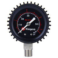 Kegco Low Pressure Replacement Gauge