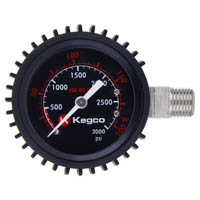 Kegco Elite Series High Pressure Replacement Gauge