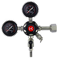 Elite Series Dual Gauge CO2 Draft Beer Regulator