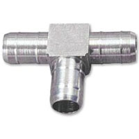 Brass Inline T Fitting for 5/16 Inch ID Vinyl Beer Hose