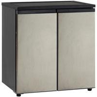 5.5 Cu. Ft. Side-by-Side Refrigerator-Freezer - Stainless Steel Doors