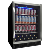 Danby SBC057D1BSS Beverage Center