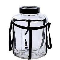 5.5 Gallon Wide Mouth Glass Carboy
