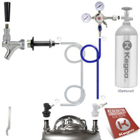 Standard Homebrew DIY Kegerator Conversion Kit