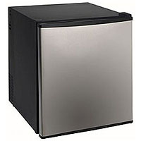 1.7 Cu. Ft. Compact SUPERCONDUCTOR Refrigerator - Stainless Steel Door