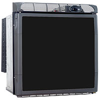 60 Quart Front Open Refrigerator / Freezer - Black