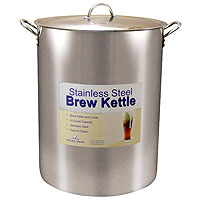 60 Qt. Economy Stainless Steel Brew Kettle