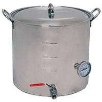 15 Gallon Super Economy Stainless Steel Brew Pot