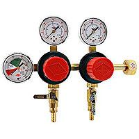 2-Product Dual Pressure Kegerator Co2 Regulator