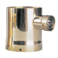 Single Product Tower Adapter - Brass