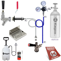Ultimate Door Mount DIY Kegerator Keg Tap Conversion Kit