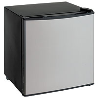 1.4 Cu. Ft. Dual Function Refrigerator or Freezer - Black Cabinet and Solid Platinum Finish Door <b>*BACKORDERED*</b>