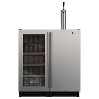 VS15-BK Beverage Center and Kegerator