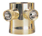 Krome C522 Two Product Tower Adapter - Brass