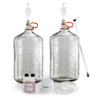 Old Skool Cellarman Glass Carboy Starter Kit