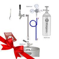 Premium Single Faucet Party Kegerator Conversion Kit