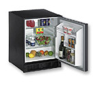 U-Line 29RB 3.5 Cu. Ft. Built-in All Refrigerator in Black