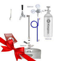 Ultimate Single Faucet Party Kegerator Conversion Kit