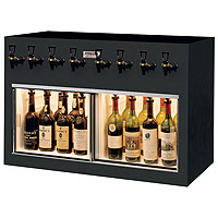 Monterey 8 Bottle Wine Dispenser Preservation Unit - Laminate