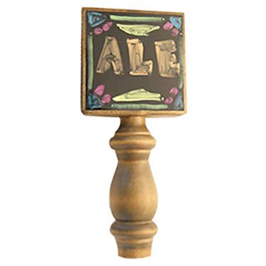 4 Photo of Two Chalkboard Beer Tap Handles