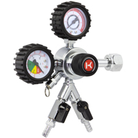 Kegco HL-62-2 Commercial Grade Dual Gauge Two Product Regulator