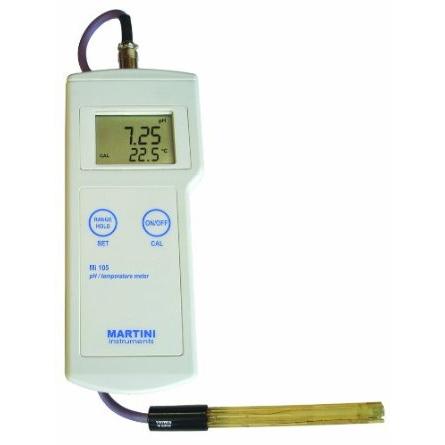 Milwaukee MI105 pH Portable Meter