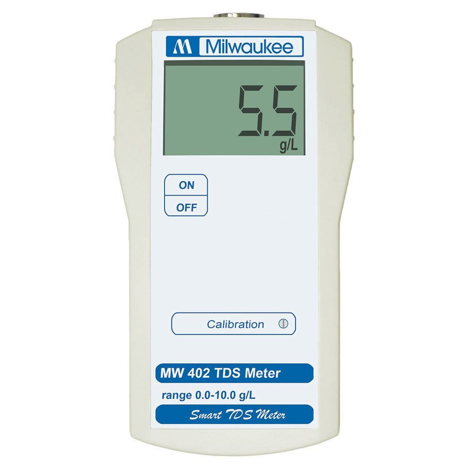 Milwaukee MW402 TDS-PPM Meter (0.1 g/L resolution)